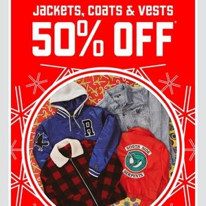 50% OFF ALL COATS AND JACKETS IN MY CLOSET SALE